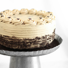 SprinkleBakes - Chocolate Chip Cookie Dough Devil's Food Cake Cheesecake