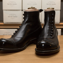 AUTHENTIC SHOE&Co. - BUTTONED BOOTS