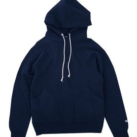 ENDS and MEANS - Pullover Hoodie Navy