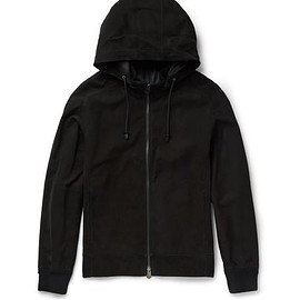 Berluti - Slim-Fit Suede Hooded Bomber Jacket