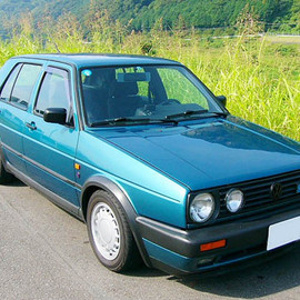 Volkswagen - Mk2 Golf Fire and Ice