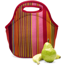 BUILT - Gourmet Getaway Lunch Bag (Stripe) by Aaron Lown And John Roscoe Swartz