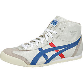 Onitsuka Tiger - MEXICO Mid Runner ホワイト×ブルー