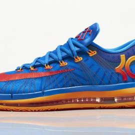 Nike - NIKE KD VI ELITE PHOTO BLUE/TEAM ORANGE-ATOMIC MANGO