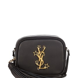 SAINT LAURENT - FW2016 Monogram Blogger leather cross-body bag