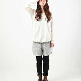 and wander - snow jacquard short pants