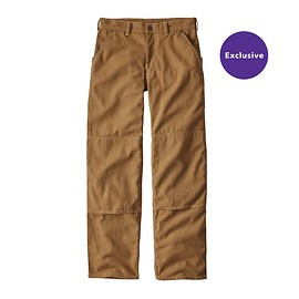 patagonia - M's Iron Forge Hemp™ Canvas Double Knee Pants (Short) - Coriander Brown
