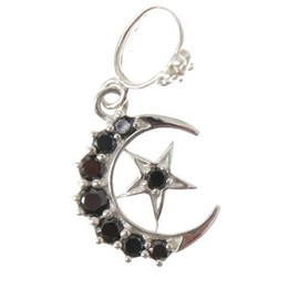 Loree Rodkin - half moon/star pendant/ペンダント