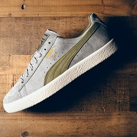 PUMA, Bobito Garcia - Clyde 'Guard Up' - Drizzle/Burnt Olive/Gold