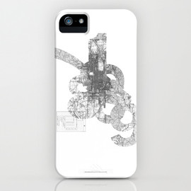Society6 - map: '794-1869 iPhone Case