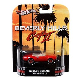 Mattel - Hot Wheels: Retro Entertainment Series: Beverly Hills Cop II '68 Olds Cutlass Convertible