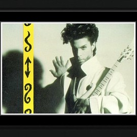 Prince - Sign Framed and Mounted Print - 10.2x14.7cm