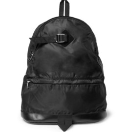 A.P.C. - Leather-Trimmed Backpack