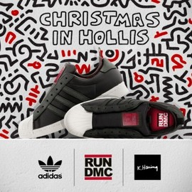 adidas originals, Run-DMC, Keith Haring - Superstar 80s - Christmas in Hollis