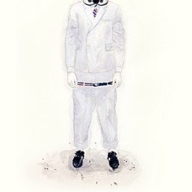 JOHN WOO - HE WEARS IT 002 - Stormtrooper wears THOM BROWNE. NEW YORK