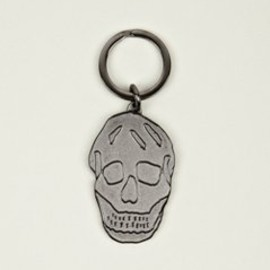 Alexander McQueen - Men's Enamel Skull Key Ring