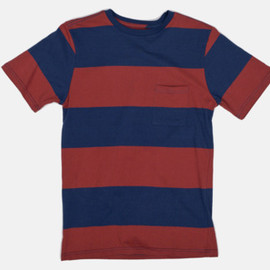 Saturdays Surf NYC - Randall Block Stripe T