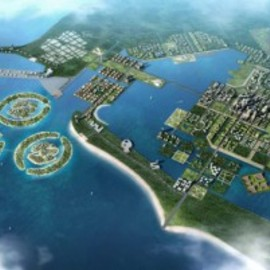 China - Low Carbon Future City of the island of Hainan