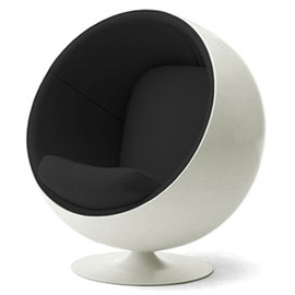 Eero Aarnio - ball chair (Black)