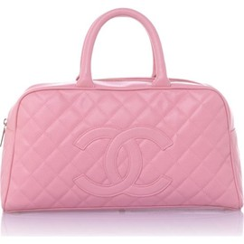 CHANEL - Pink Quilted Satchel Bag