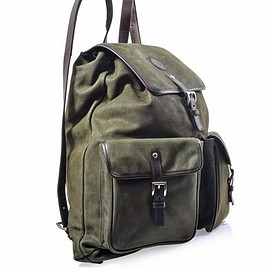 Trussardi - Suede and Leather backpack