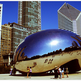 Anish Kapoor - Cloud Gate, Chicago