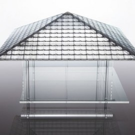 Tokujin Yoshioka - Glass Tea House (for 54th Venice Biennale)
