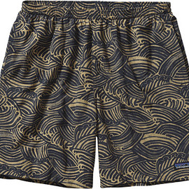 "Patagonia - Baggies Longs Shorts - Men's 7"" - Water Maker:Navy Blue"