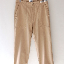 UNIVERSAL PRODUCTS - ORIGINAL FATIGUE PANTS(BEIGE)