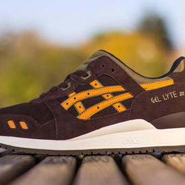 asics - Asics Gel Lyte III   Dark Brown   Olive