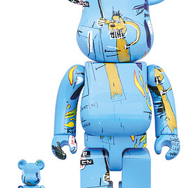 MEDICOM TOY - BE@RBRICK JEAN-MICHEL BASQUIAT #4 100% & 400%