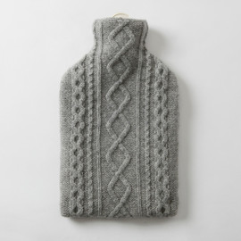 MARGARET HOWELL - HOT WATER BOTTLE CASE GREY