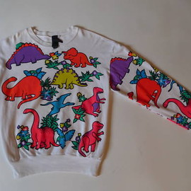 Bernhard Willhelm - dinosaurs jumper