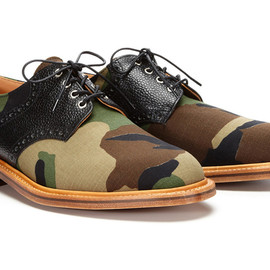 Mark McNairy New Amsterdam - Woodland Camo Derby Lace-Ups for Park & Bond