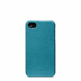 Coach - Coach Bleecker Leather Molded Iphone 4s Case