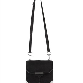 Alexander Wang - Black Marion Sling With Rhodium Hardware Thumb