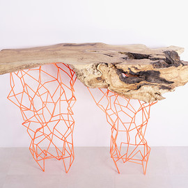Maximo Riera - the millennial console collection from ancient trees (RED,YELLOW)
