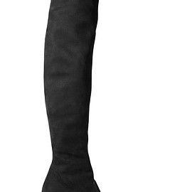 Saint Laurent - Stretch-suede over-the-knee boots