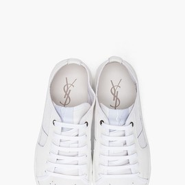 YVES SAINT-LAURENT - sneakers/white