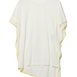 3.1 Phillip Lim - t-shirt with flat kite back panel