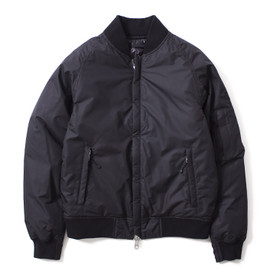 THE NORTH FACE PURPLE LABEL - Reversible Varsity Down Jacket - Black