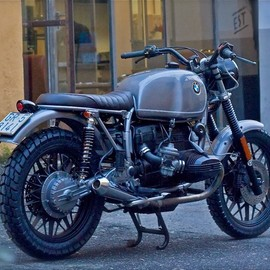 Cafe Twin - BMW R100 Scrambler