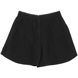 Carven - CRUSHED WOOL SHORTS