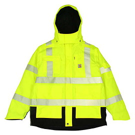 Carhartt - High Visibility Class 3 Waterproof Sherwood Jacket - Bright Lime