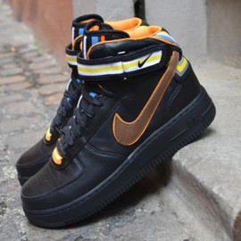 Nike - NIKE + R.T. AIR FORCE 1 MID BLACK