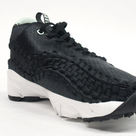 NIKE - NIKE FOOTSCAPE WOVEN CHUKKA 「3HC PACK」 BLK/WHT