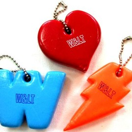 W&LT - key rings (W,Heart,Thunder)