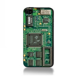Circuit Board iPhone 4S Case (Fit for 4S and 4)