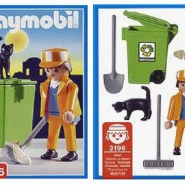 PLAYMOBIL - Sanitation Worker