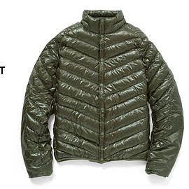 Burton - AK457 PACKABLE DOWN JACKET(Olive)